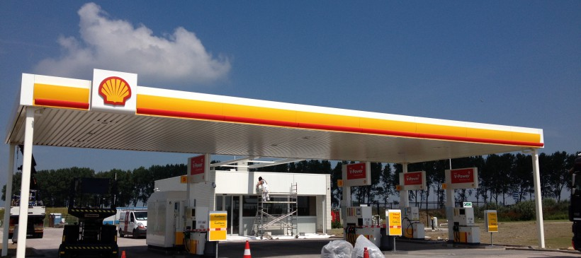 Nieuwbouw Shell de Zandkreek